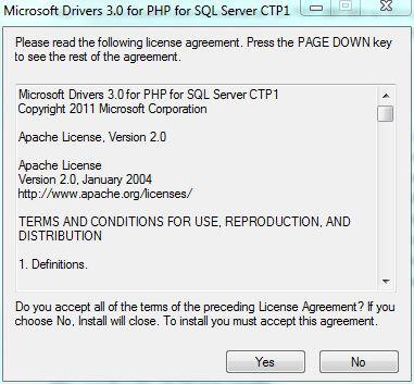 Licencia del driver